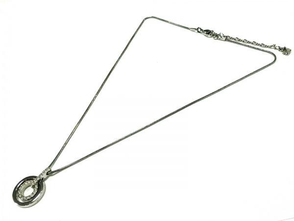 スワロフスキー ネックレス - 金属素材×スワロフスキークリスタル 2