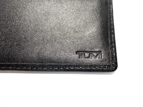 TUMI(トゥミ) 札入れ - 黒 パンチング レザー 5