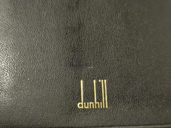 dunhill/ALFREDDUNHILL(ダンヒル) 札入れ - 黒 レザー 5