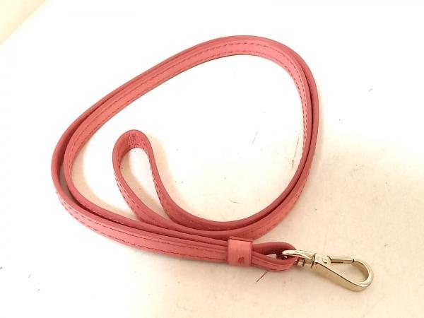 FURLA(フルラ) パスケース - ピンク×黒×ライトピンク レザー 5