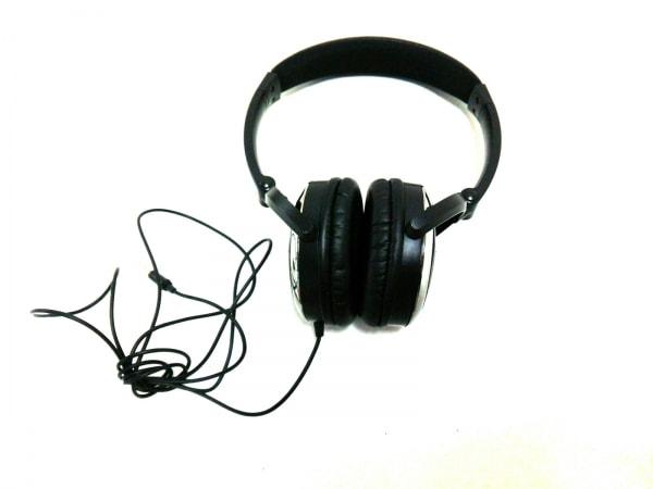 PRADA(プラダ) 小物美品  黒×シルバー ヘッドフォン 1