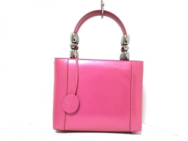 クリスチャンディオール ハンドバッグ マリスパール ピンク 1