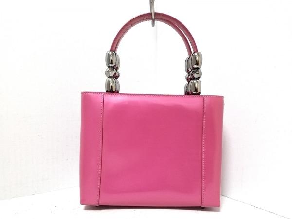 クリスチャンディオール ハンドバッグ マリスパール ピンク 3