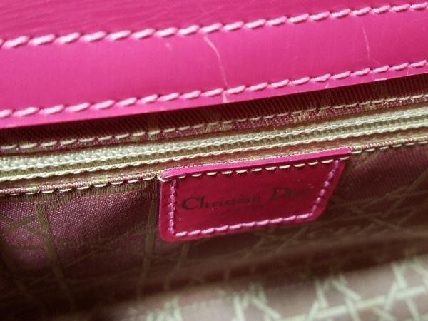 クリスチャンディオール ハンドバッグ マリスパール ピンク 8