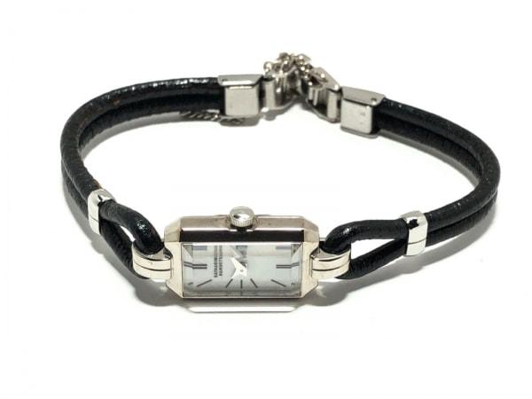 キャサリンハムネット 腕時計 KH-8005 レディース 革ベルト 白 2