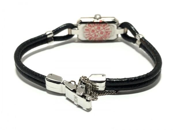 キャサリンハムネット 腕時計 KH-8005 レディース 革ベルト 白 3