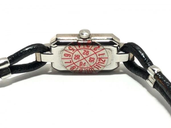 キャサリンハムネット 腕時計 KH-8005 レディース 革ベルト 白 4
