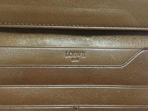 LOEWE(ロエベ) 札入れ - ダークイエロー ナッパレザー 5