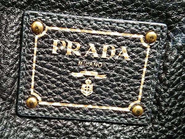 プラダ トートバッグ レディース - ダークネイビー 革タグ レザー 8