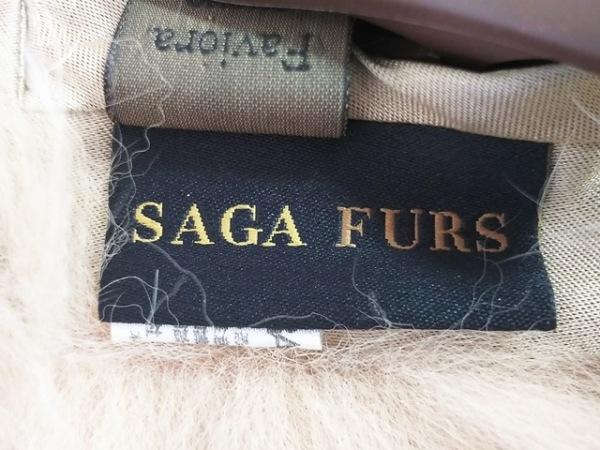 SAGAFURS(サガファー) マフラー美品  - ベージュ ファー 3