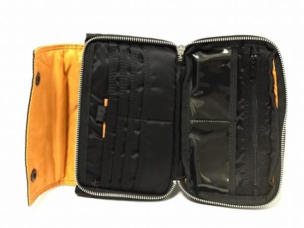ポーター 財布美品  タンカー 黒 ショルダーウォレット ナイロン 3