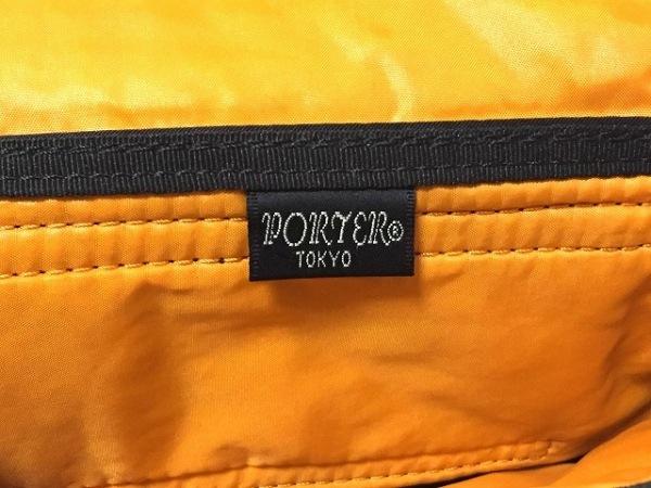 ポーター 財布美品  タンカー 黒 ショルダーウォレット ナイロン 4