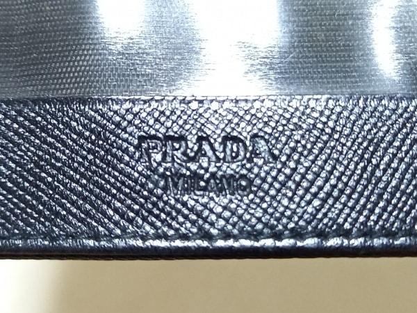 PRADA(プラダ) パスケース - グレー ナイロン×レザー 4