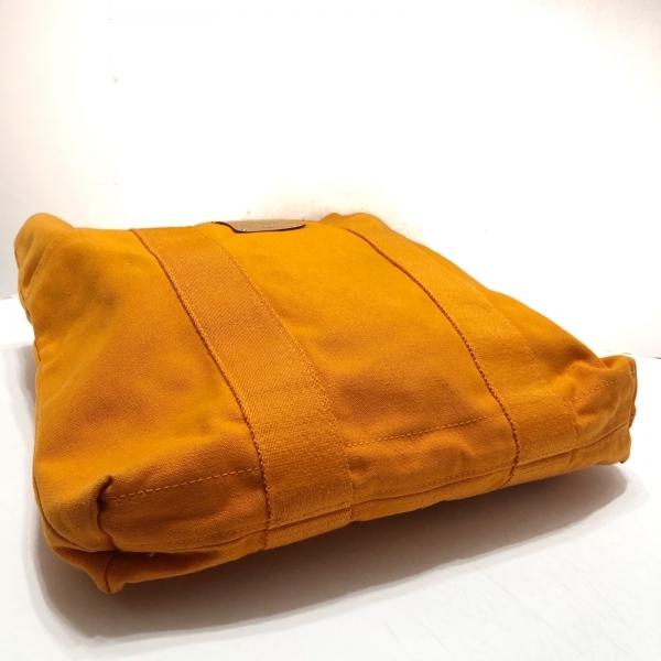 HERMES(エルメス) フールトゥカバスハワイ限定 オレンジ キャンバス 4