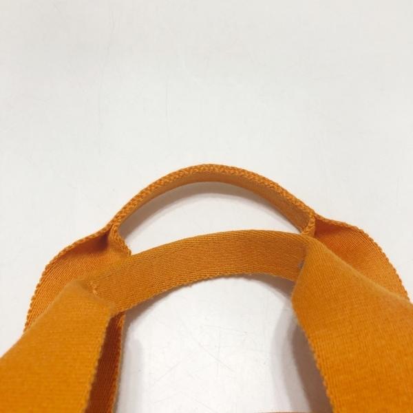 HERMES(エルメス) フールトゥカバスハワイ限定 オレンジ キャンバス 6