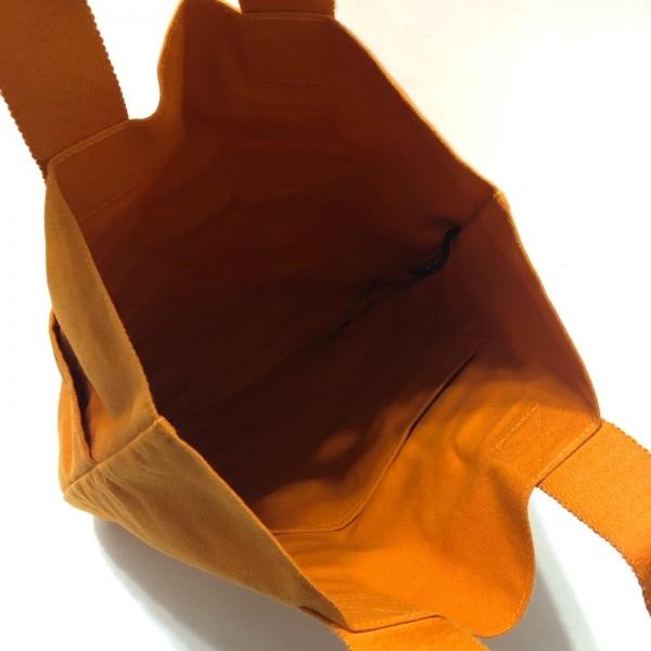 HERMES(エルメス) フールトゥカバスハワイ限定 オレンジ キャンバス 7