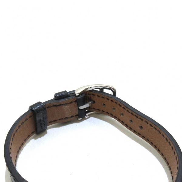 HERMES(エルメス) 腕時計 ケリーウォッチ KE1.210 レディース □H 黒 4