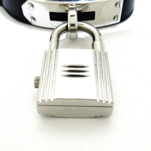 HERMES(エルメス) 腕時計 ケリーウォッチ KE1.210 レディース □H 黒 5