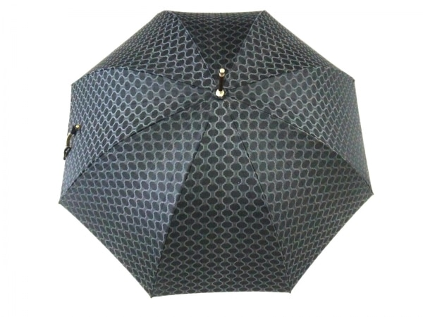 CELINE(セリーヌ) - 黒×グレー 化学繊維 1