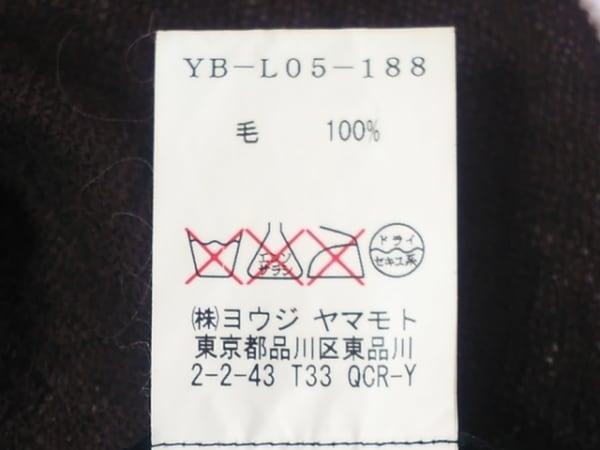 Y's(ワイズ) ストール(ショール) - ダークブラウン×グレー×マルチ 4