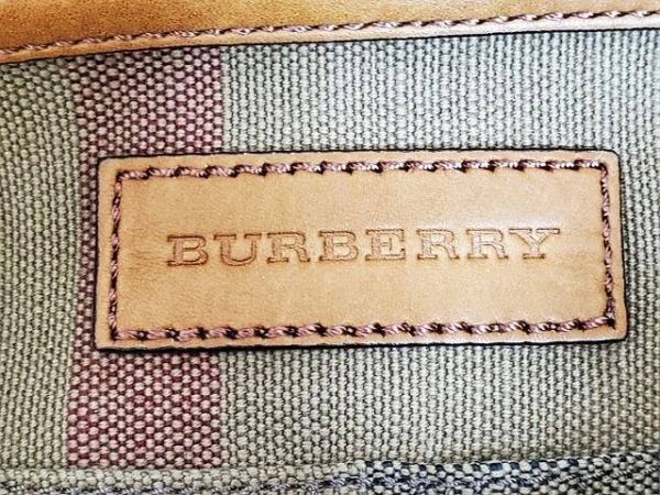 Burberry(バーバリー) ショルダーバッグ - ベージュ×黒×ブラウン 8