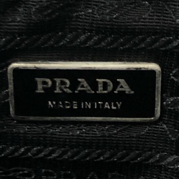 PRADA(プラダ) - 黒 ナイロン×レザー 8