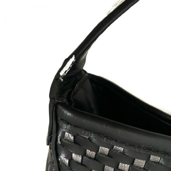 COACH(コーチ) ショルダーバッグ美品  - F29894 黒×ダークグレー 9