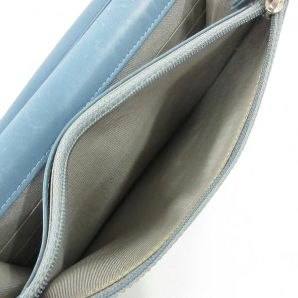 CHANEL(シャネル) 財布 - A48654 ライトブルー キャビアスキン 4