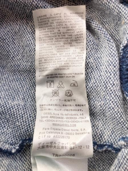 ディーゼル ワンピース サイズS レディース ネイビー 長袖/ひざ丈 5