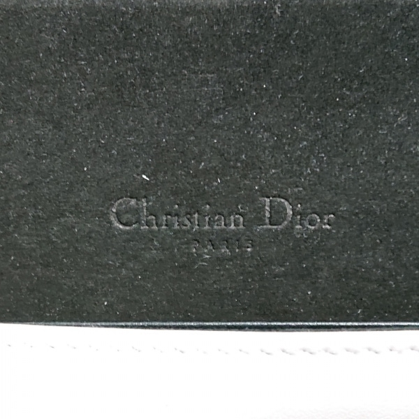 ディオール/クリスチャンディオール - アイボリー×マルチ レザー 8