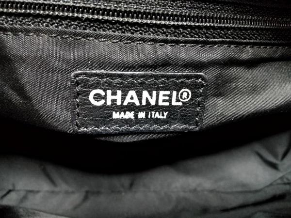 CHANEL(シャネル) ハンドバッグ ニュートラベルライン 黒 8