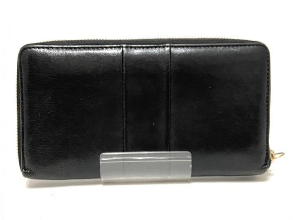 Chloe(クロエ) 長財布 - 3P0090-733 黒×ダークグレー レザー 2