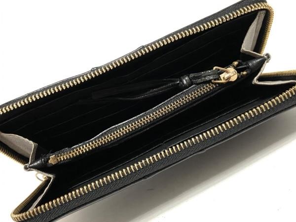 Chloe(クロエ) 長財布 - 3P0090-733 黒×ダークグレー レザー 3