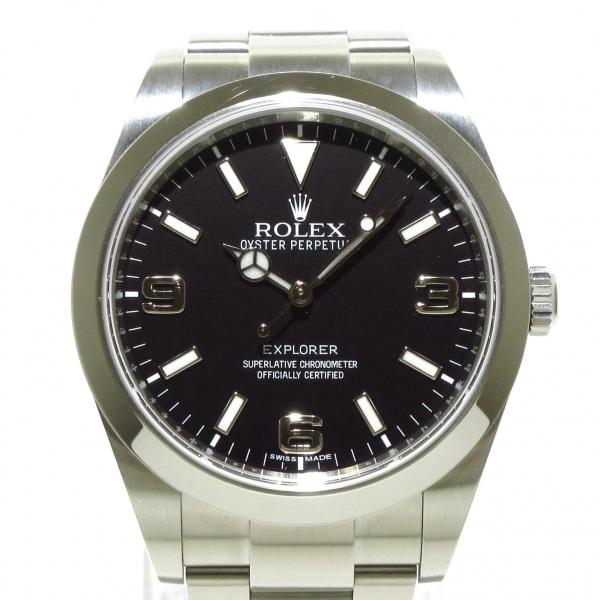 ROLEX(ロレックス)新品同様  エクスプローラー1 214270 メンズ 黒 1