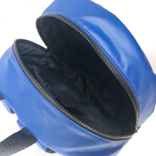 DIESEL(ディーゼル) リュックサック美品  - ブルー×黒 7