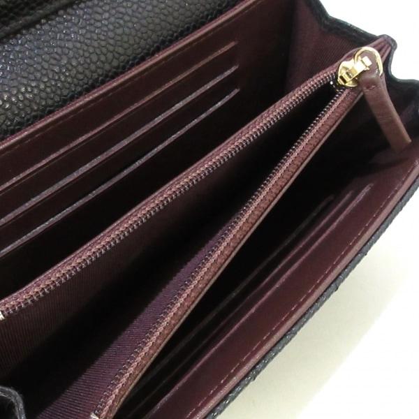 CHANEL(シャネル) 財布美品  マトラッセ A84512 黒 キャビアスキン 4