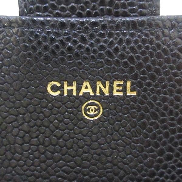 CHANEL(シャネル) 財布美品  マトラッセ A84512 黒 キャビアスキン 5