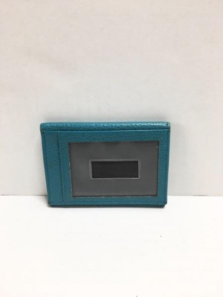 GUCCI(グッチ) パスケース - 354500 ブルーグリーン レザー 2