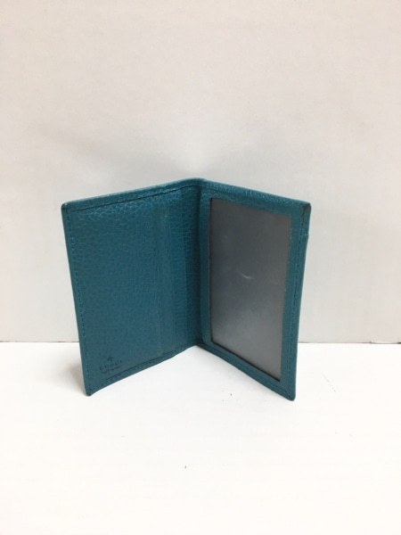 GUCCI(グッチ) パスケース - 354500 ブルーグリーン レザー 3