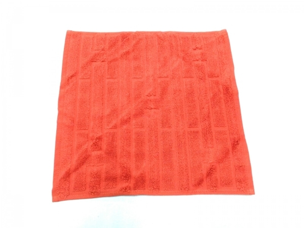 HERMES(エルメス) 小物美品  - オレンジ ハンドタオル コットン 1