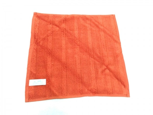 HERMES(エルメス) 小物美品  - オレンジ ハンドタオル コットン 2