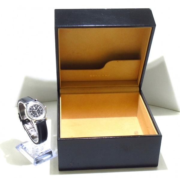 ブルガリ 腕時計 ソロテンポ ST29S レディース 黒×シルバー 9
