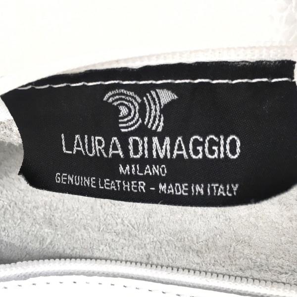 LAURA DI MAGGIO(ローラディマジオ) トートバッグ - 白 レザー 8