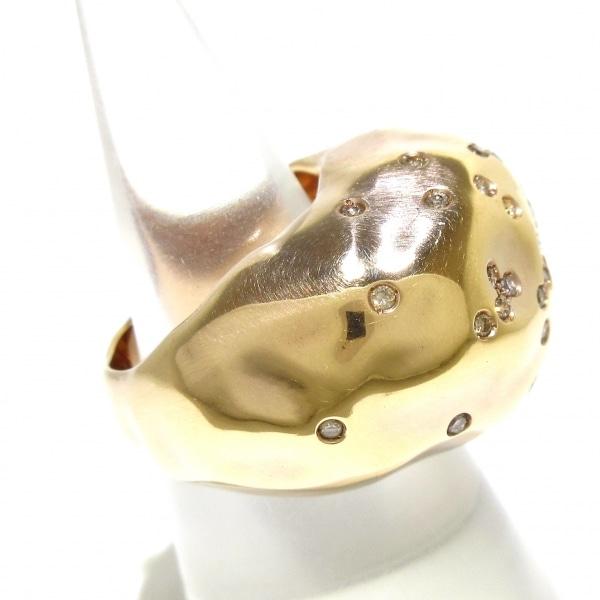 アントニーニ リング美品  アニバーサリー K18PG×ダイヤモンド 2