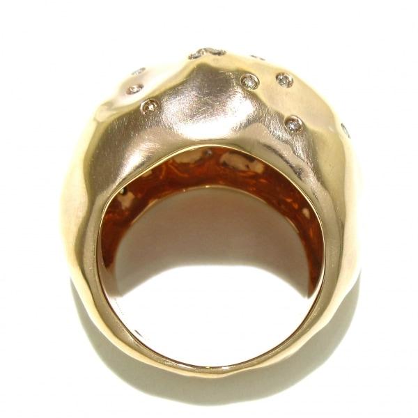 アントニーニ リング美品  アニバーサリー K18PG×ダイヤモンド 4