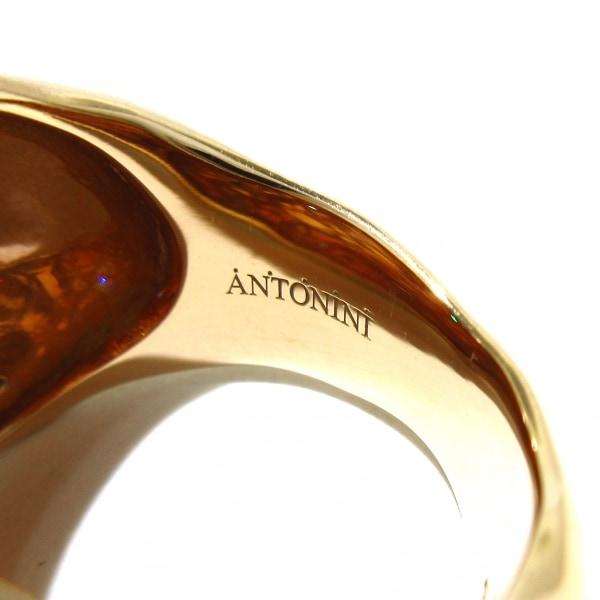 アントニーニ リング美品  アニバーサリー K18PG×ダイヤモンド 5