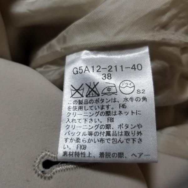 マッキントッシュロンドン サイズ38 M レディース美品  - ベージュ 5
