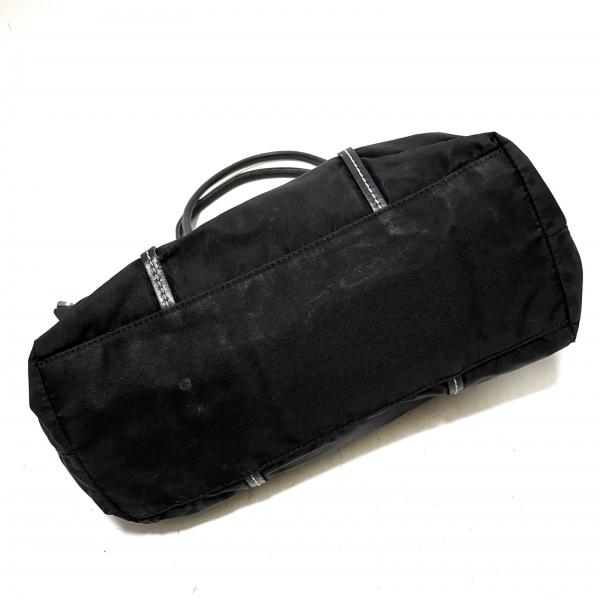 PRADA(プラダ) トートバッグ - BN0642 黒 ナイロン×レザー 4