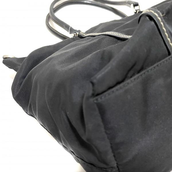 PRADA(プラダ) トートバッグ - BN0642 黒 ナイロン×レザー 5
