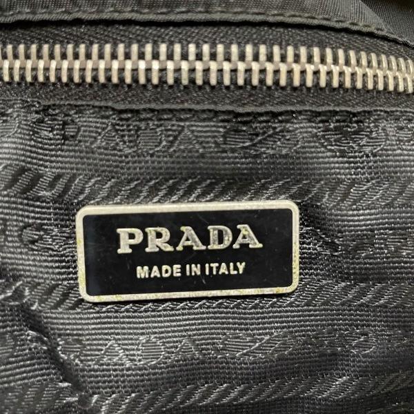 PRADA(プラダ) トートバッグ - BN0642 黒 ナイロン×レザー 8